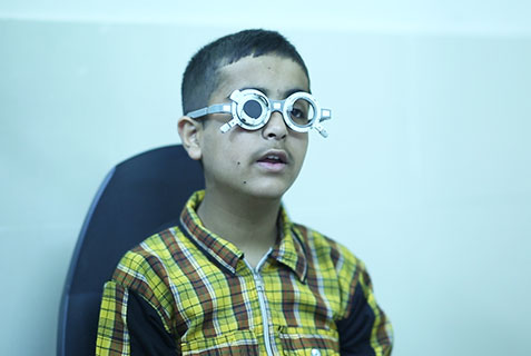 diagnosis & treatment, Eye disorders, Al-Khidmat Raazi