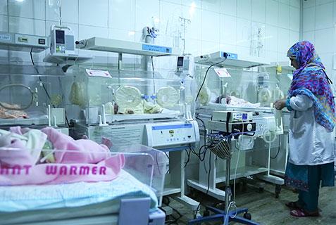 Neonatal Intensive Care Unit, NICU, Al-Khidmat Raazi