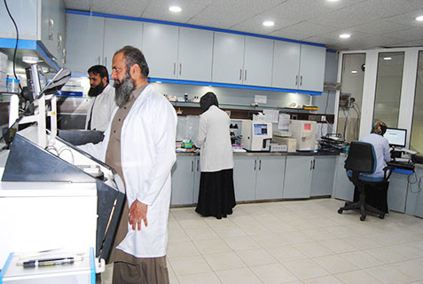 Laboratories, Our Staff, Al,Khidmat Raazi