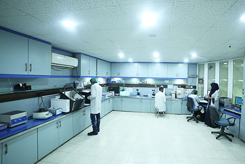 Efficient Staff, Advanced Equipments, Al-Khidmat Raazi