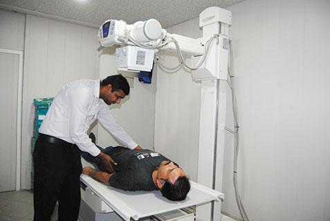 X-Ray Room, Al-Khidmat Raazi Rwp