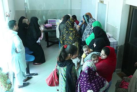 Trusted Name, Patients, Al-Khidmat Raazi