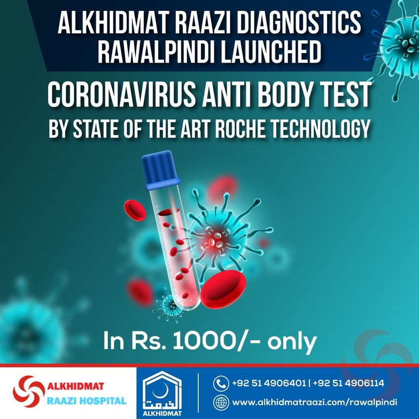 COVID Anti Body, Corona Test, Anti Body