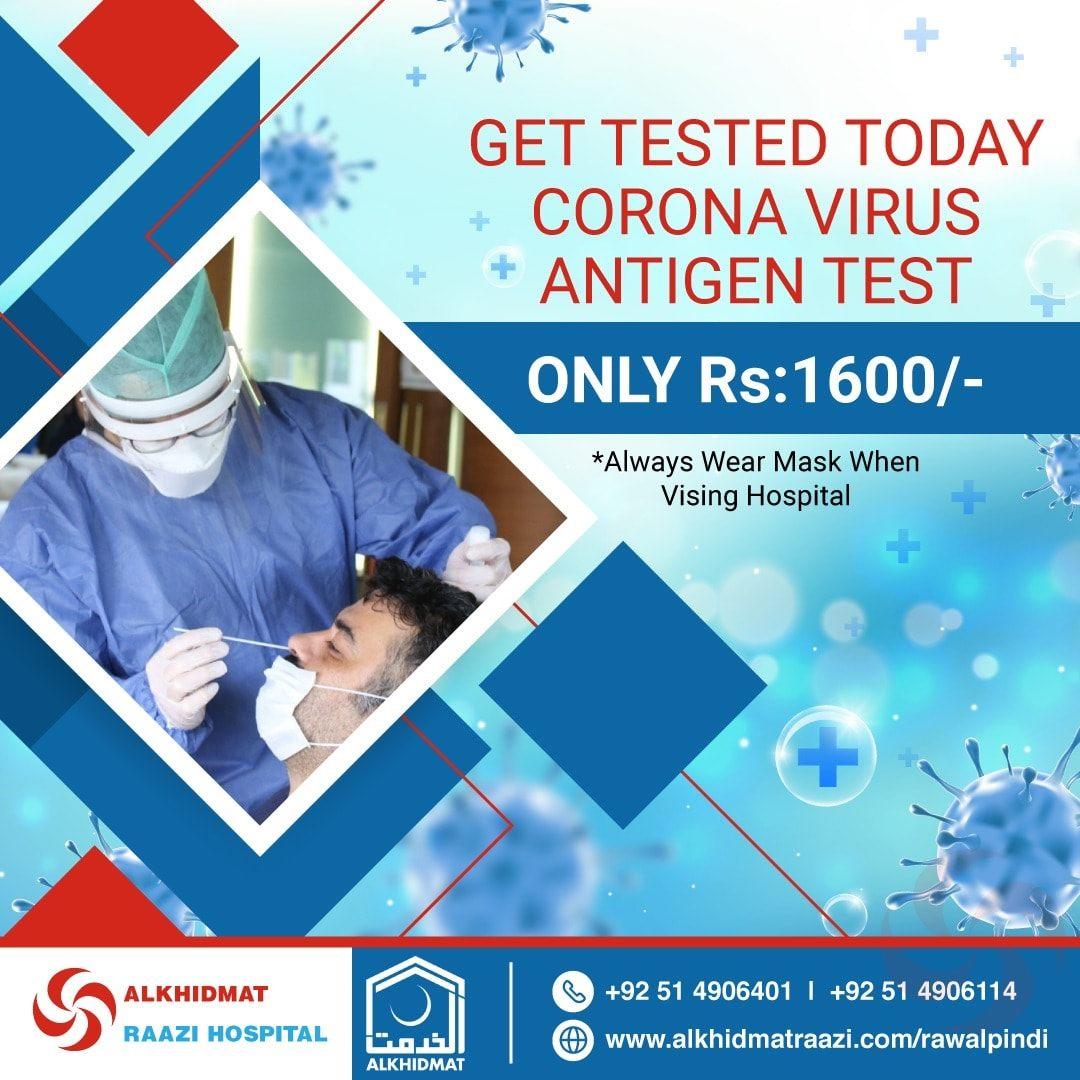 Antigen Test, Corona Test, COVID