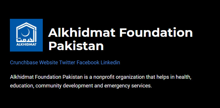 37 Top Pakistan Non Profit Companies and Startups of 2021
